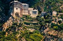 Mount Athos, a unique male monastic society