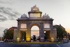 Puerta de Toledo in Madrid