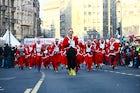 Santa Claus race
