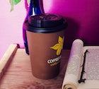 Grab a coffee at Coffee Island
