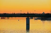 Staggering Seruen Bridge in Nur-Sultan