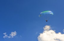 Paragliding over Ohrid