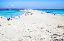 Cala Ses Illetes in Formentera