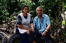Cachí, a farming town, Costa Rica