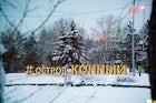Konnyi Island in Irkutsk