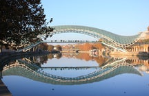 Bridge of piece in Tbilisi