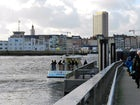 ferry Ostend western-eastern bank