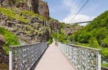 Devil's bridge of Jermuk