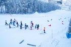 Bobrovy Log ski resort, Siberia