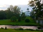 The Finsky Park (Finnish Park) in Pskov