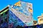 Murals by BLUE Via del Porto Fluviale Rome