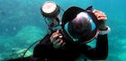 Take your underwater memorable picture with Amorgos Diving Center team.