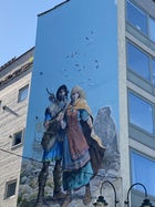 Thorgal mural, Brussels