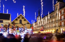 Christmas Market in Plaza Mayor