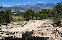 The Minoan archaeological site Agia Triada