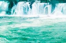 Waterfalls on Bregava River