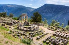 Archaeological site of Delphi