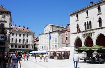 The National Square in Split