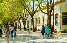 Tirana's pedestrian street