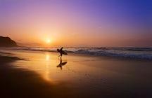 Enjoy surfing in La Zurriola, one of best spots for water sports