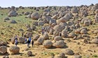 Valley of Balls in Torysh tract, West Kazakhstan