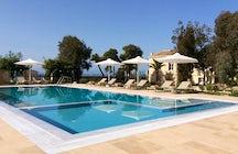 Villa Vithania luxury holiday villa in Greece