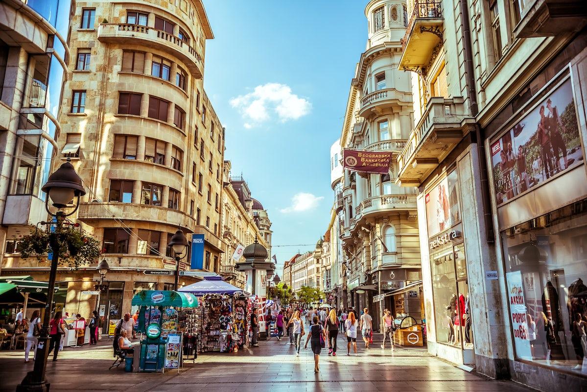 Visit Knez Mihailova Street