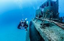 Wreck Dive the P-29 in Malta