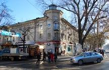 """""""Fat Frumos"""" bookstore, Chisinau"""