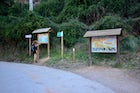 Parking and rest area in Chelva