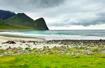 Unstad beach Lofoten