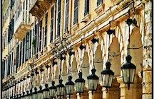 "Town ""the land of Corfu"""