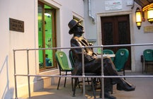 James Joyce monument in Pula