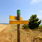 Coastal hike starting point (Le Racou to Collioure)