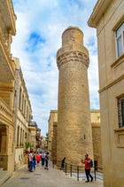 Muhammad Mosque in the old town of Baku