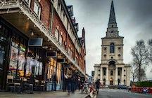 Visit Spitalfields Market, London