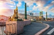 Egyptian Bridge, St. Petersburg