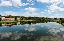 სასტუმრო ოქროს ტბა Hotel Golden Lake