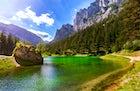 Gruner See - Green Lake