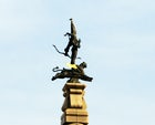 The Golden Warrior Monument, Almaty