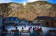 Rjukan town, Norway