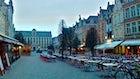 Old Market square Leuven
