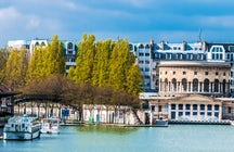 The Canal de l'Ourcq