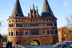 Visit the Holsten Gate in Lubeck