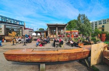 Café de Ceuvel: The Sun-Bathing Rehab in Amsterdam