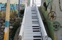 Piano Stairs,  Valparaíso