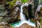 Waterfall in Arshan Resort, Buryatia