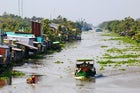 Nga Nam floating market, Soc Trang