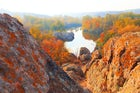 Aktove Canyon or The Devil's Valley, Ukraine