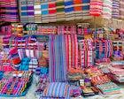 Textile's Street Market of Tarabuco